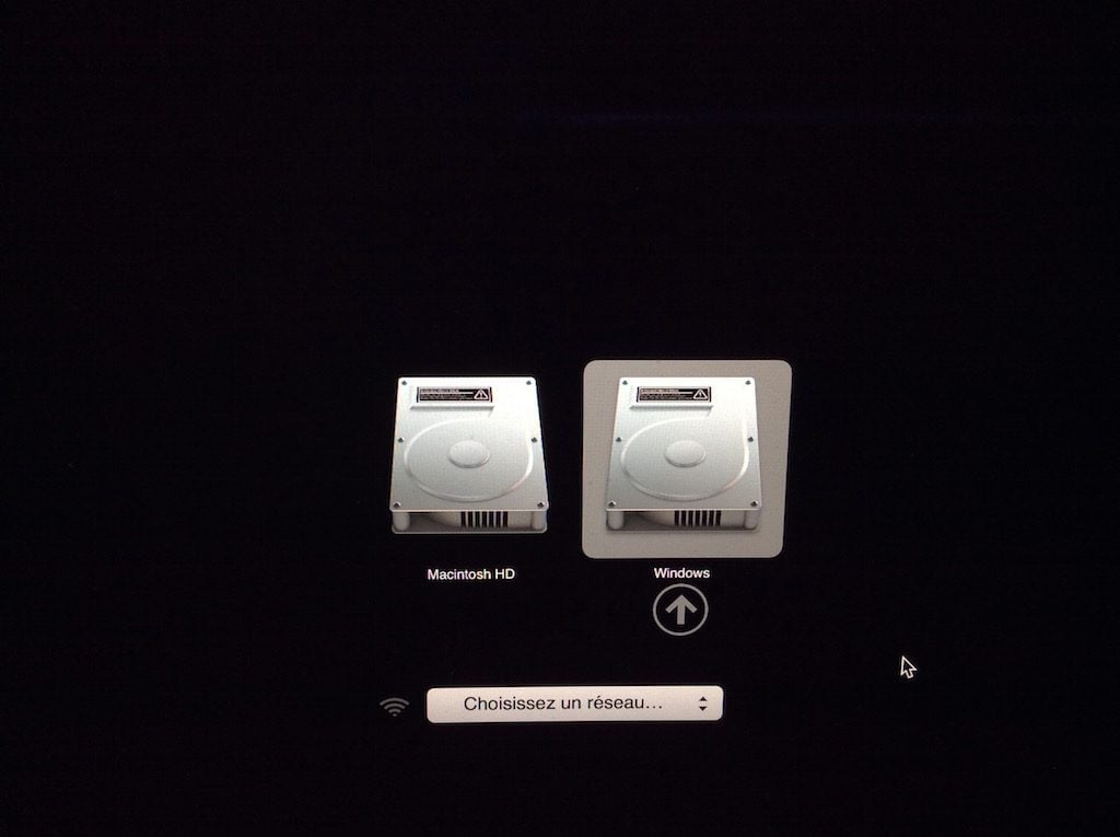 MacBook dual boot double demarrage avec windows