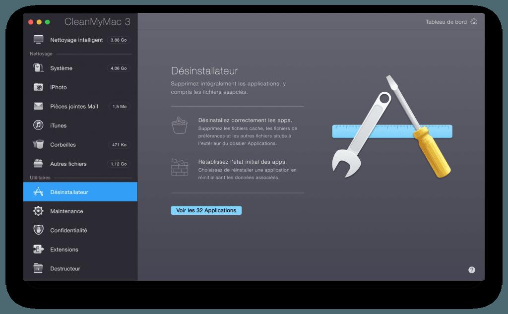 Nettoyer son MacBook desinstaller apps inutiles