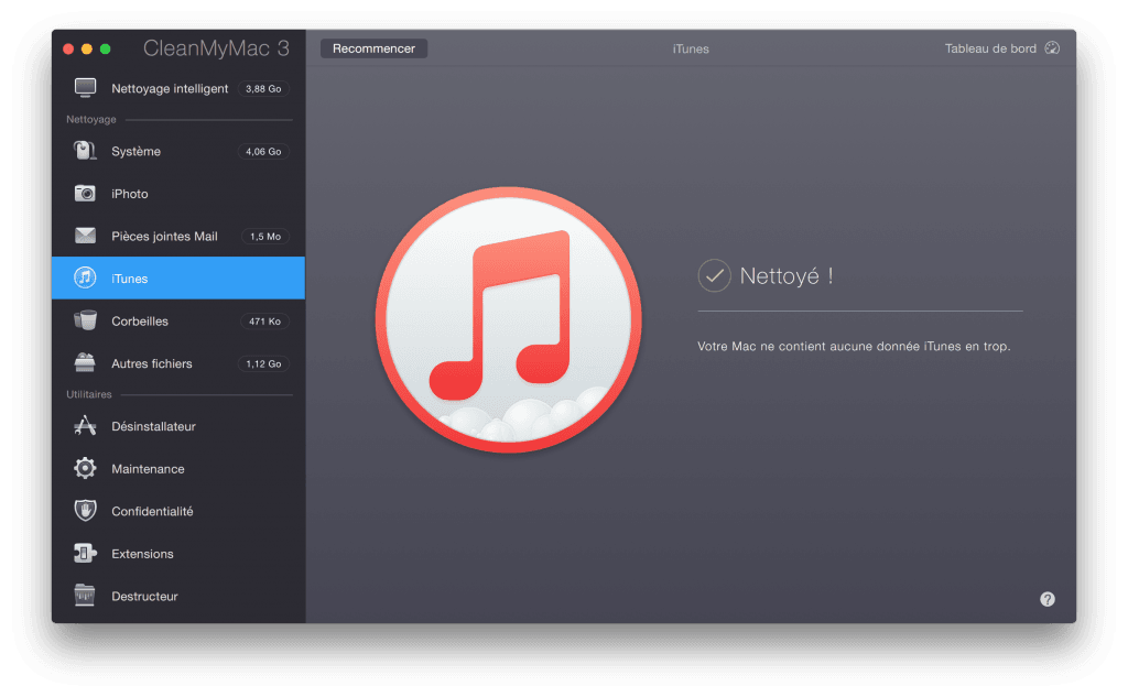 nettoyer son MacBook itunes en double