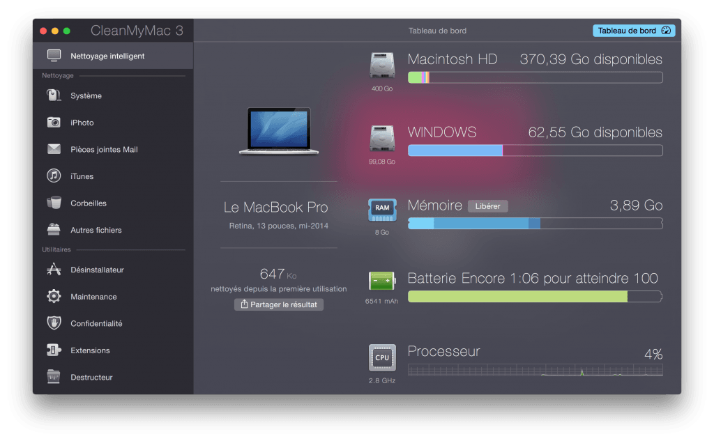 Nettoyer son MacBook rapidement