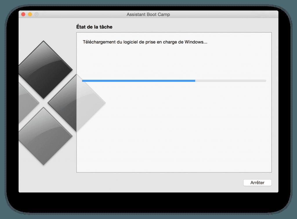 macbook dual boot telechargement logiciel prise en charge windows