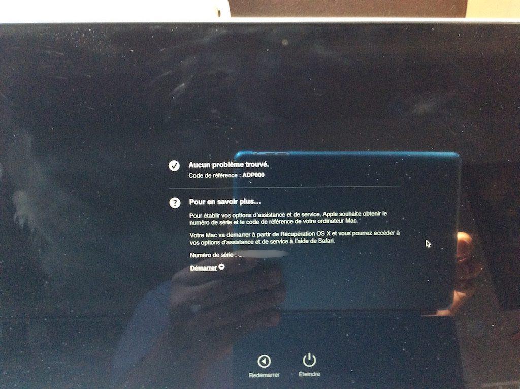 macbook probleme batterie aucun probleme trouve