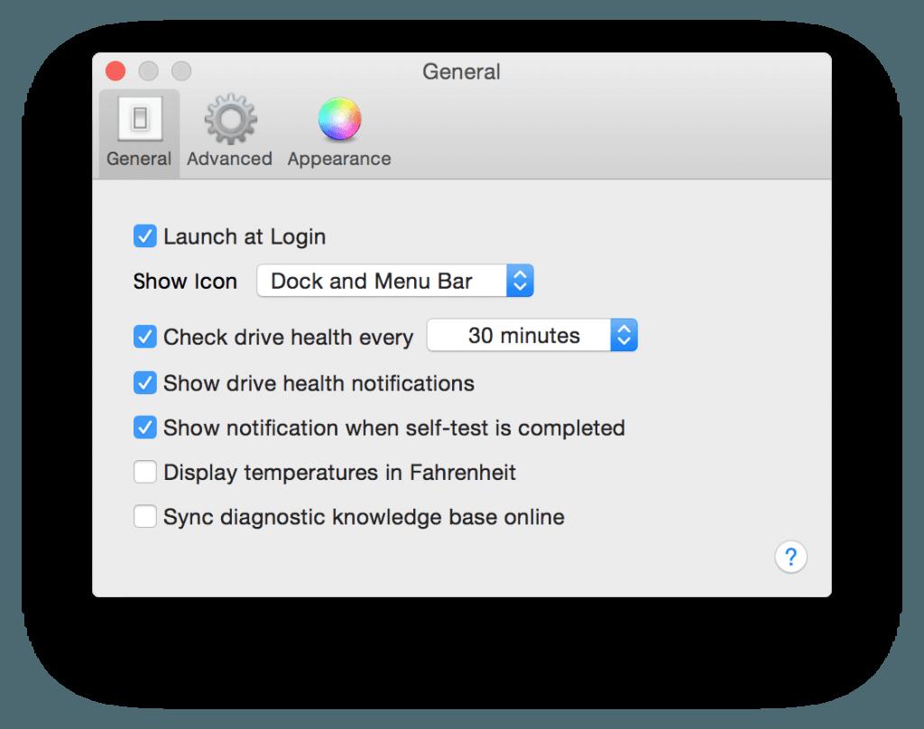 macbook ssd verification automatique