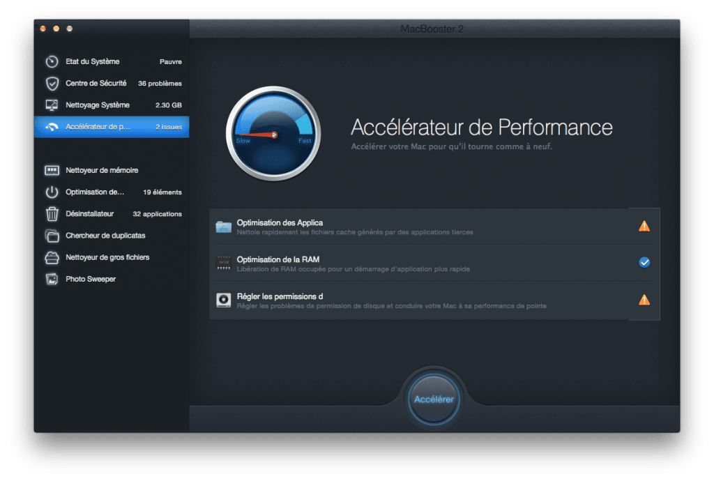 optimiser son macbook accelerateur de performances