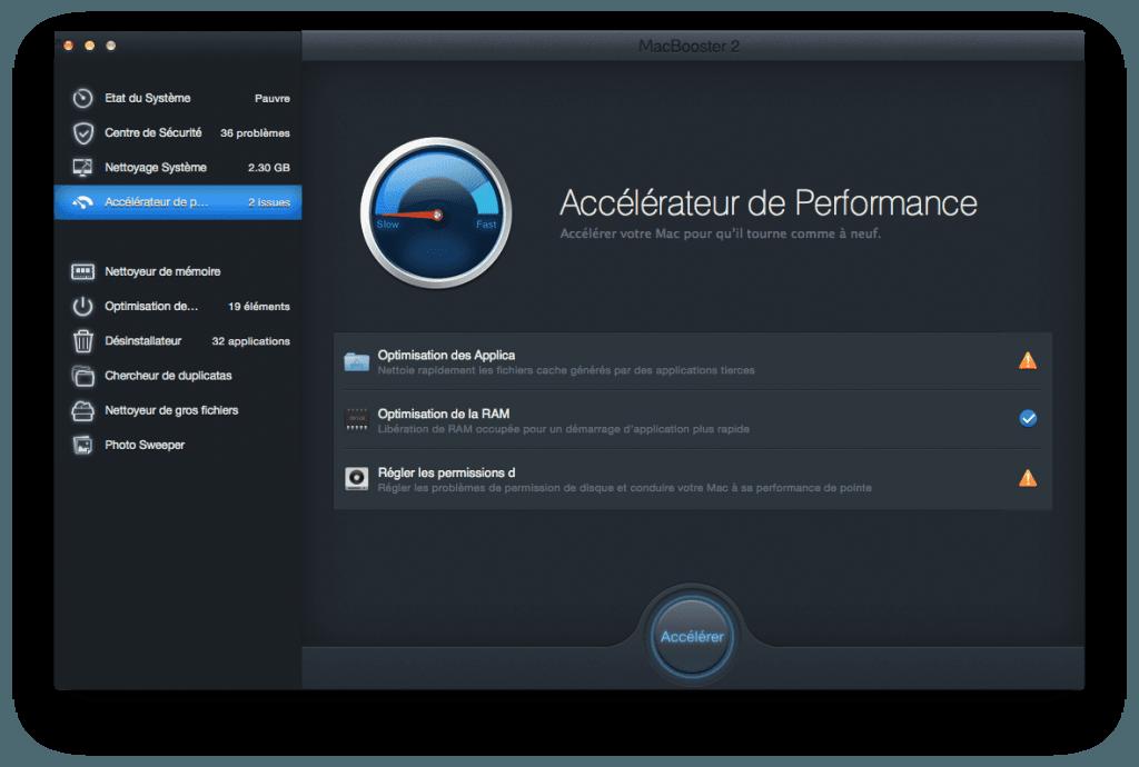 optimiser son macbook accelerateur de performances
