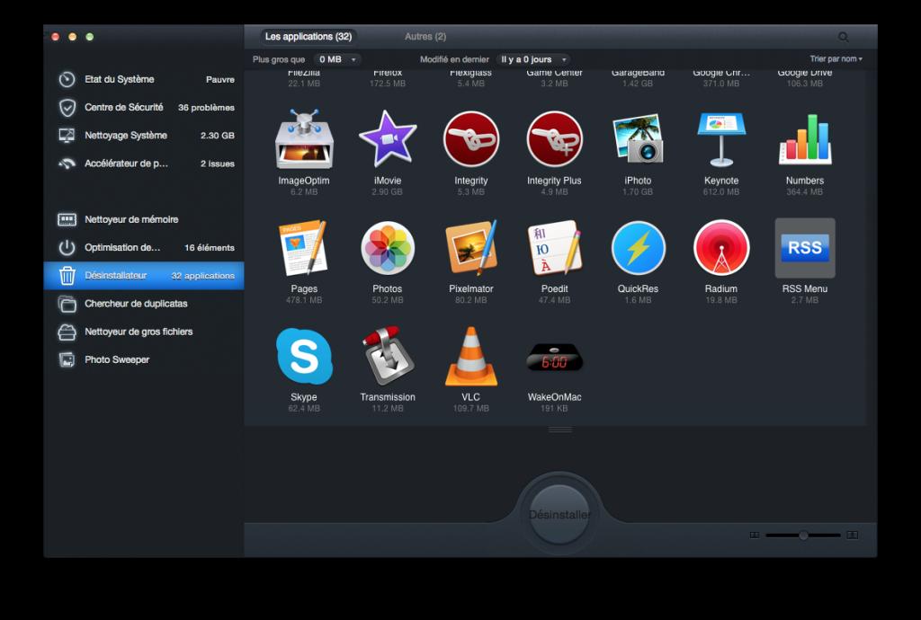 optimiser son macbook desinstaller apps inutiles