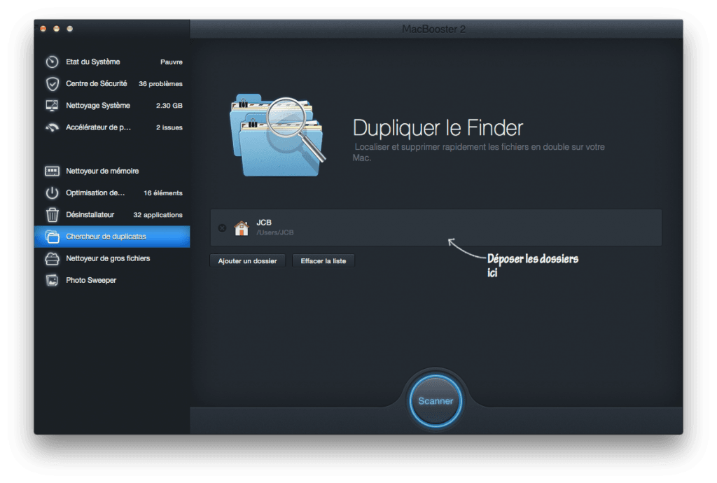 optimiser son macbook duplicatas