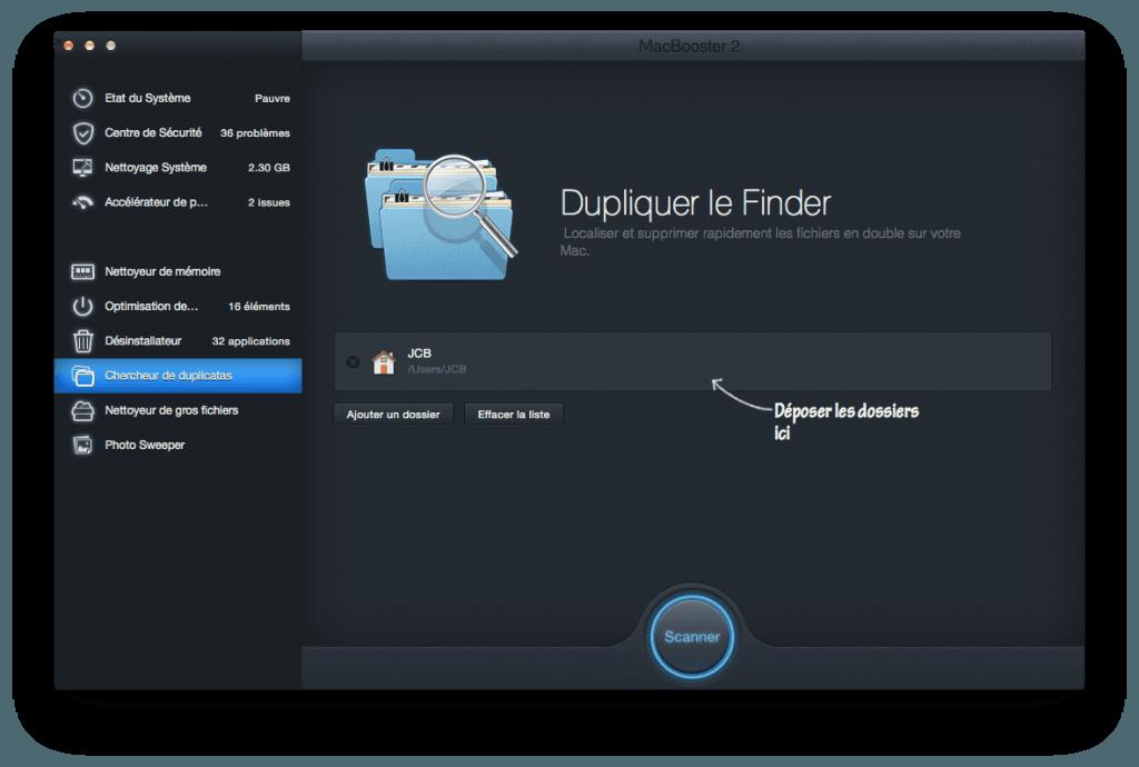 optimiser son macbook duplicatas