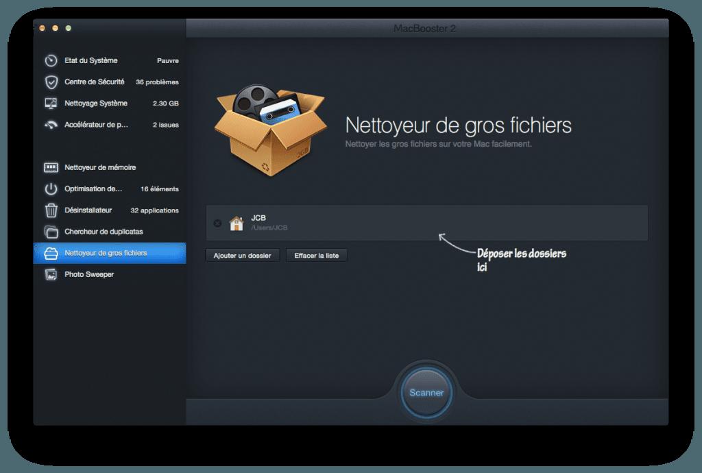 optimiser son macbook gros fichiers