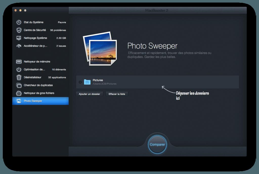 optimiser son macbook photos en double