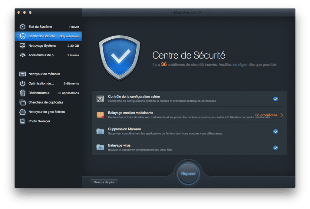 optimiser son macbook virus malwares
