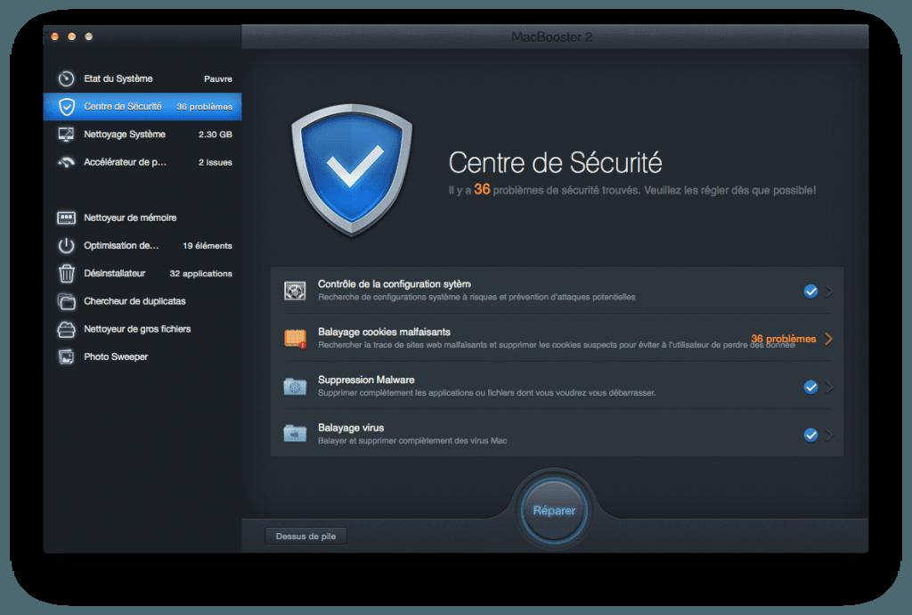 optimiser son macbook virus malwares