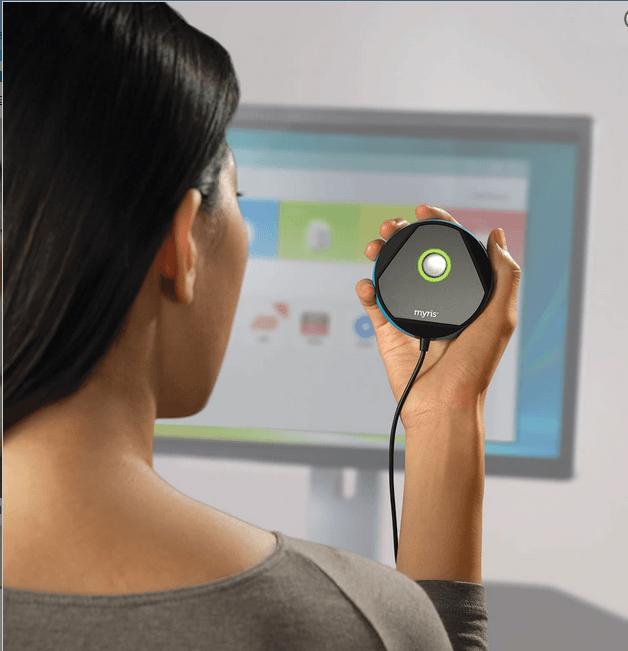 MacBook reconnaissance optique capteur