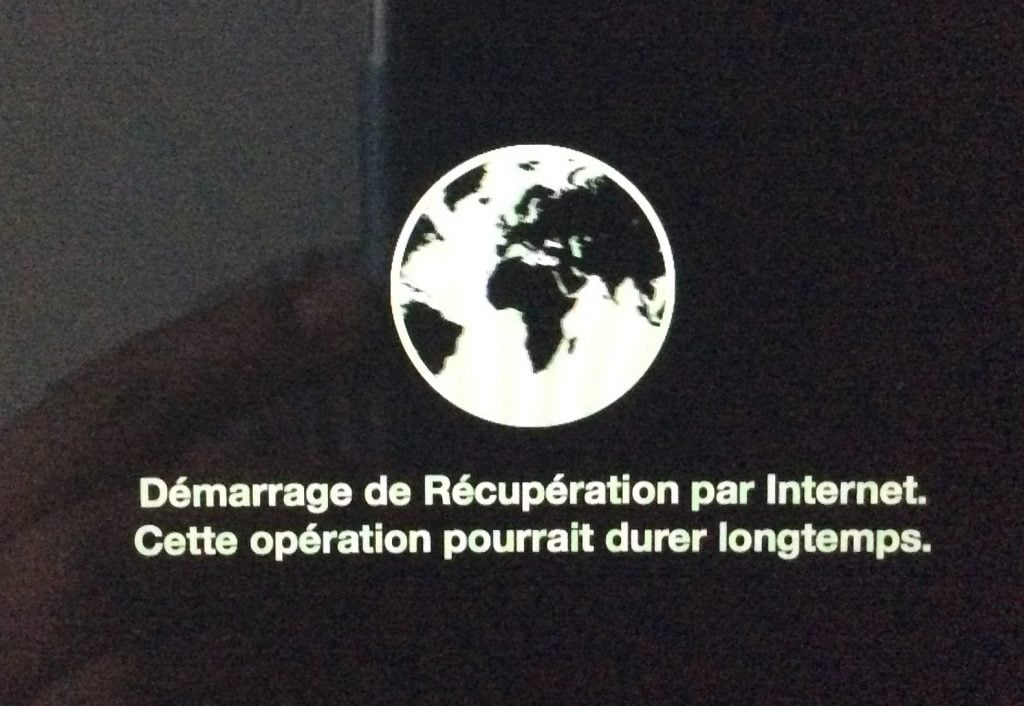 Reinstaller son MacBook par Internet