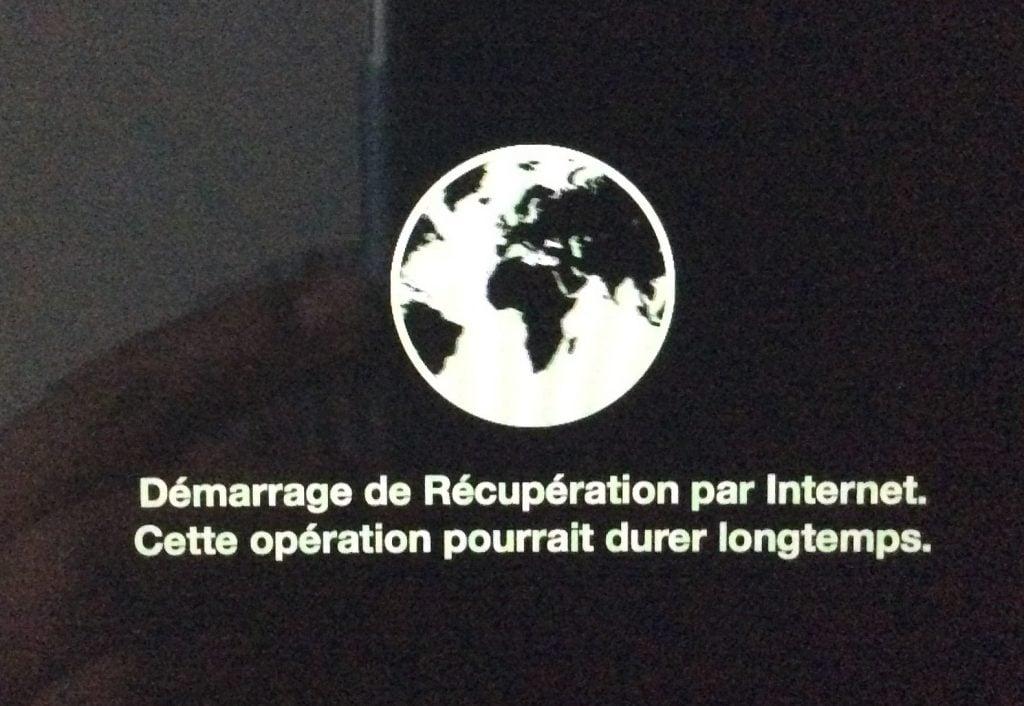 Reinstaller son MacBook par Internet