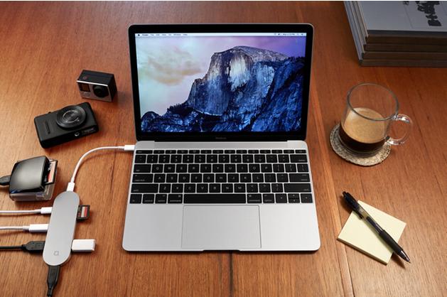 macbook 12 hub-connexion