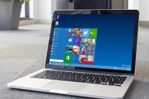 installer windows 10 sur macbook