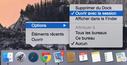 MacBook Pro desactiver ouverture session