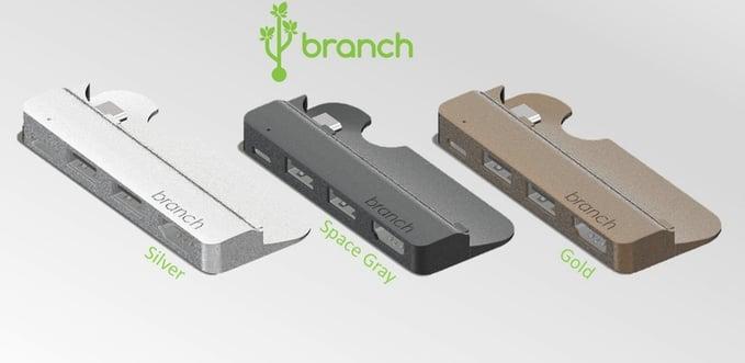 branch usb-c macbook 12 silver gray gold
