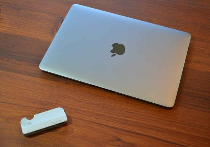branch usb-c macbook 12 silver