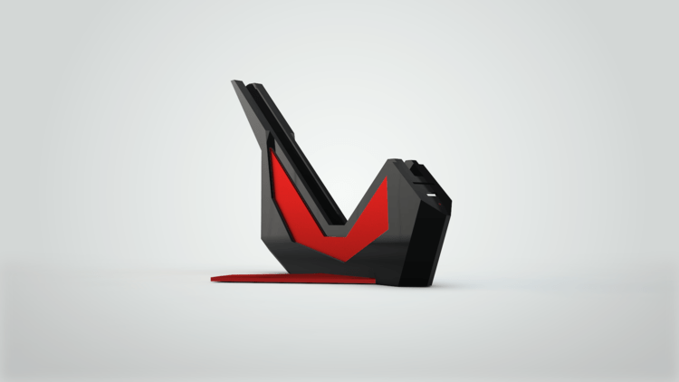 Sparrow Dock Black Red