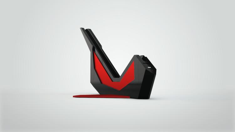Sparrow Dock Black Red