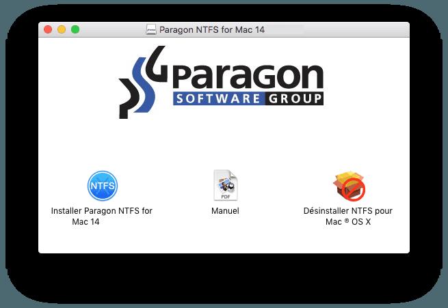 ntfs mac os x el capitan 10.11 ecrire sur disque windows