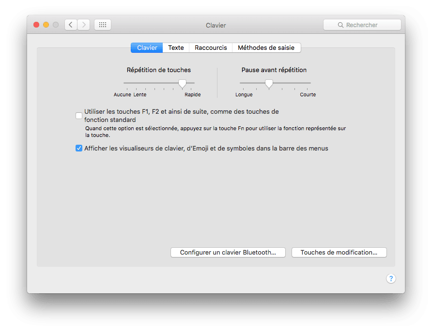 clavier virtuel mac os x el capitan afficher visualiseurs emoji
