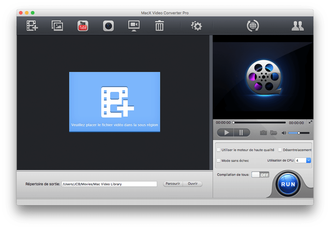 hevc h265 encoder pour mac