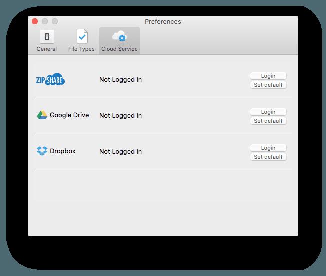 Decompresser les ZIP sur Mac dans le cloud