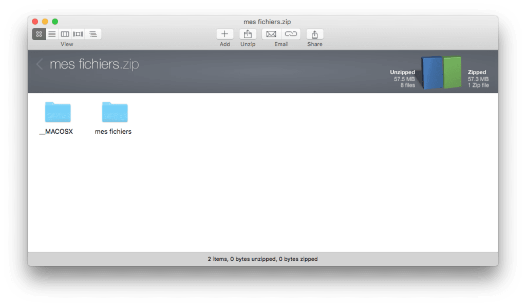 decompresser les zip sur mac winzip mac