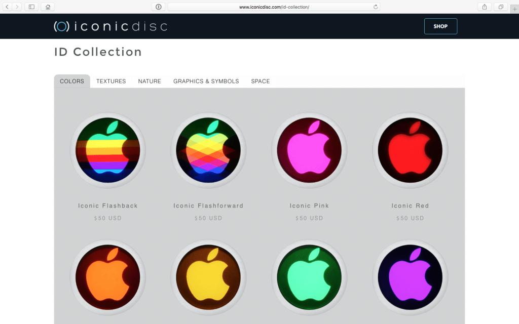 changer la pomme du MacBook couleurs