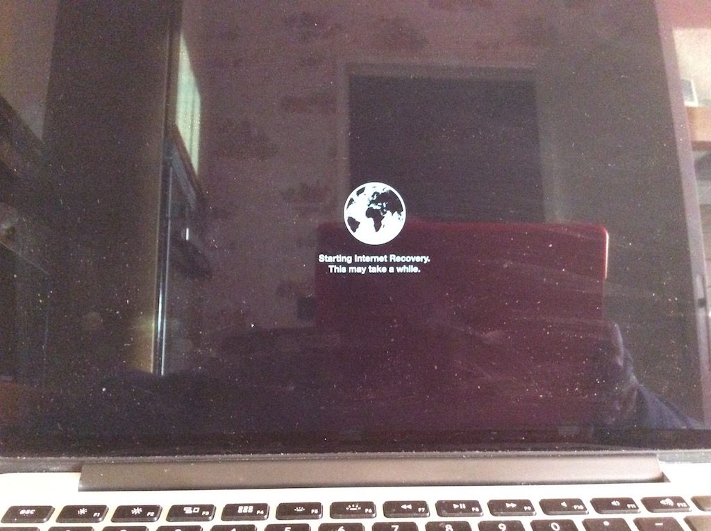 reinstaller un macbook internet recovery