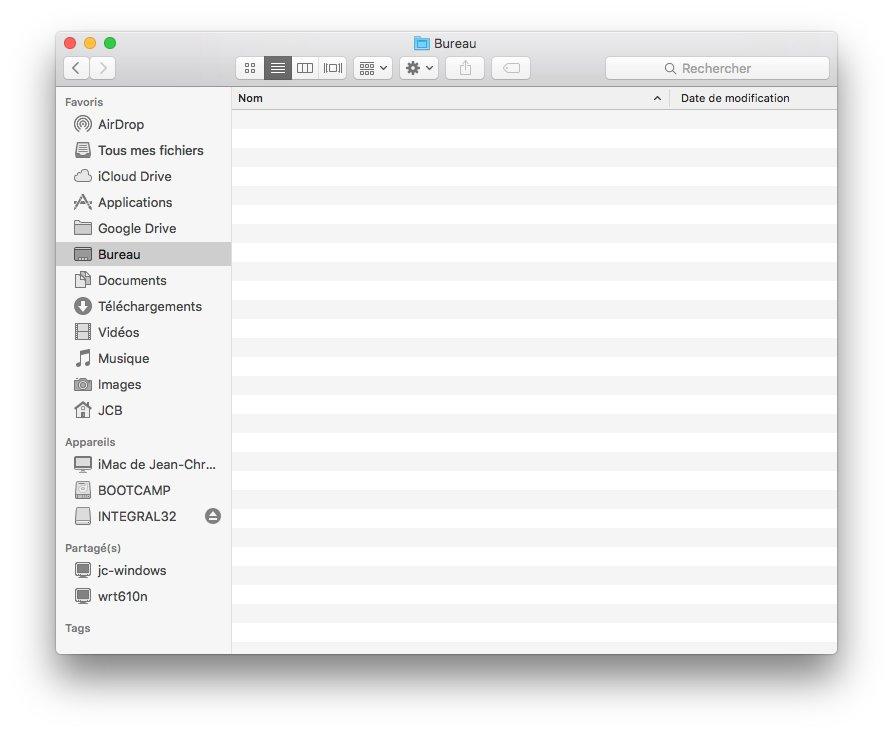 Ejecter un disque sur Mac avec le finder