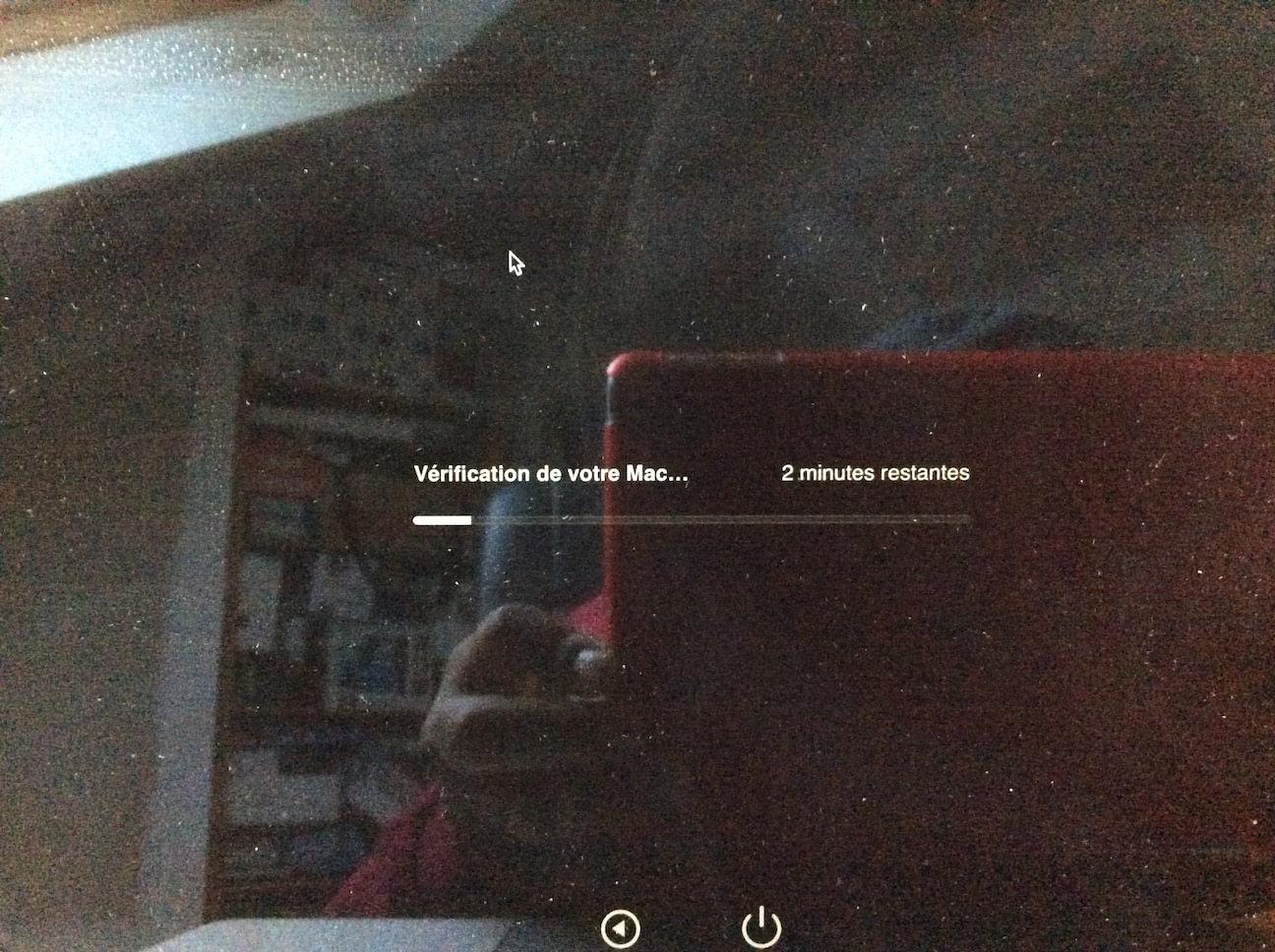 Tester son MacBook verification hardware