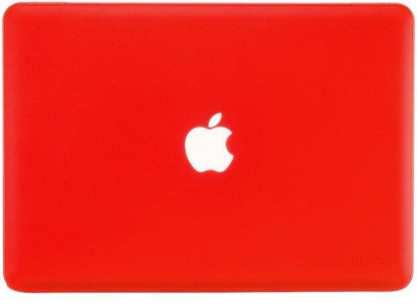 accessoires macbook retina coque rouge