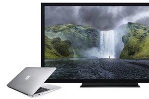 connexion macbook television comment faire