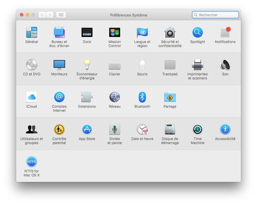 demarrer son Mac en musique utilisateurs et groupes