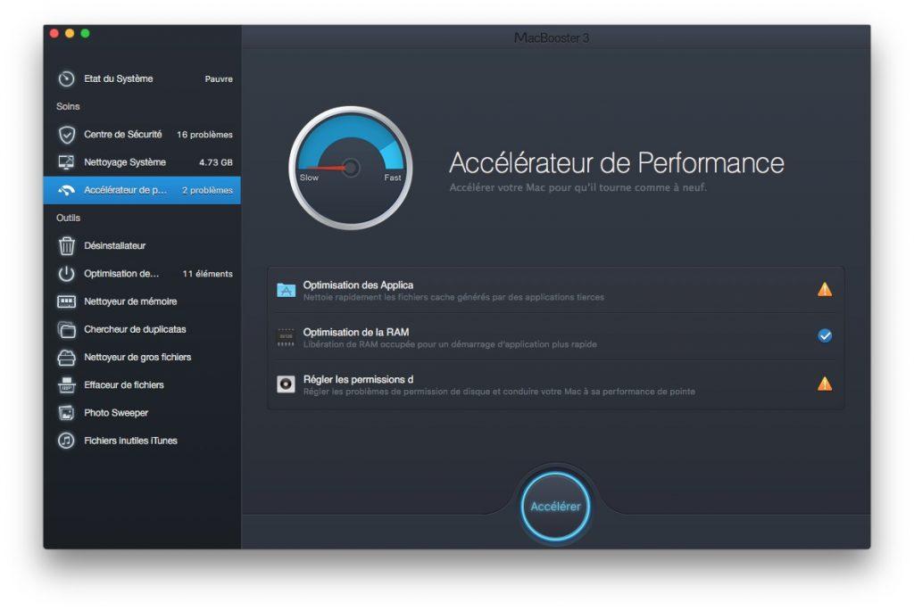 booster son macbook accelerer performances globales