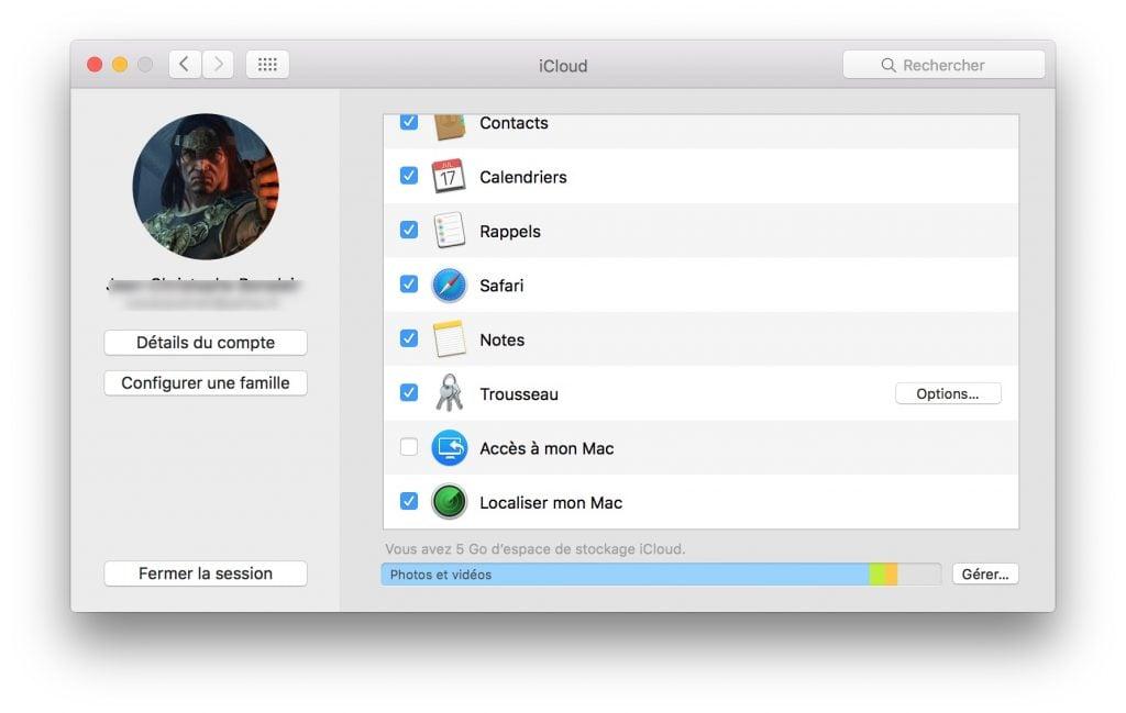 vendre son macbook deconnecter icloud