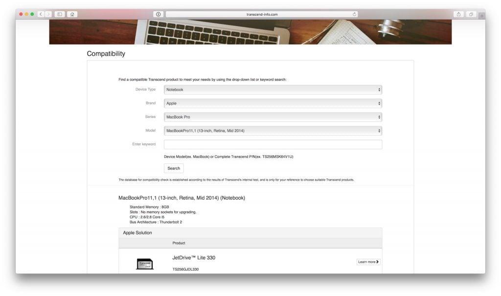 macbook stockage sd choisir