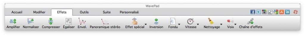 modifier un fichier audio sur mac effets