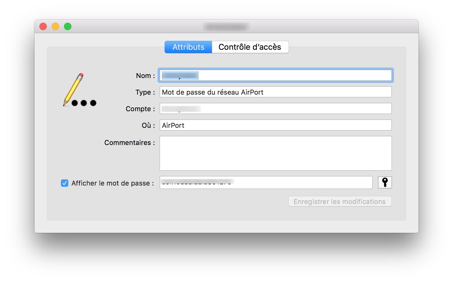 retrouver son mot de passe wifi sur mac afficher le mot de passe