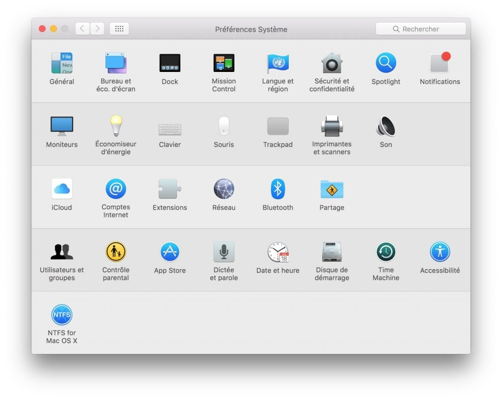 compte invite mac utilisateurs et groupes