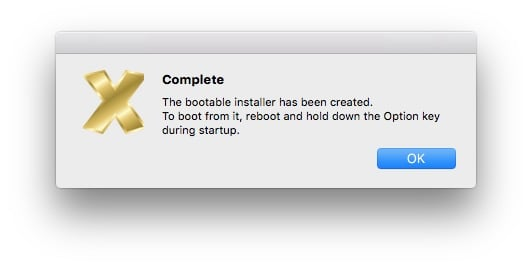 cle USB bootable macOS Sierra 10.12