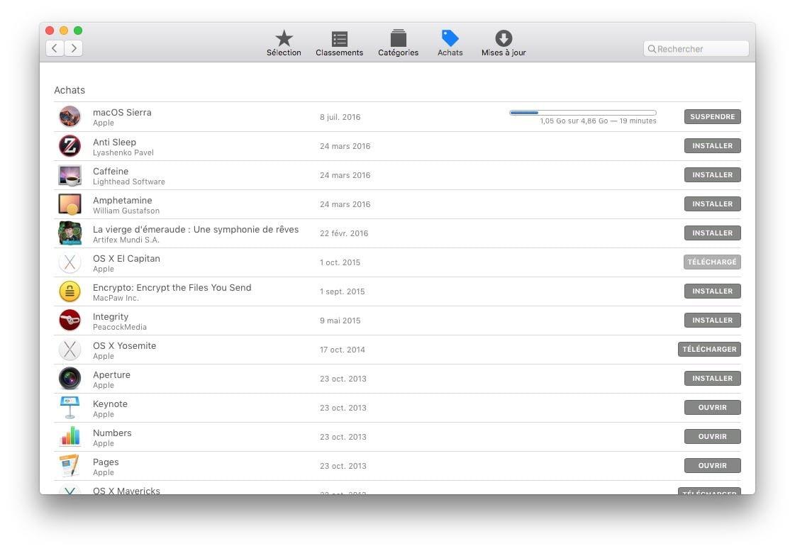 cle USB bootable macOS Sierra tuto