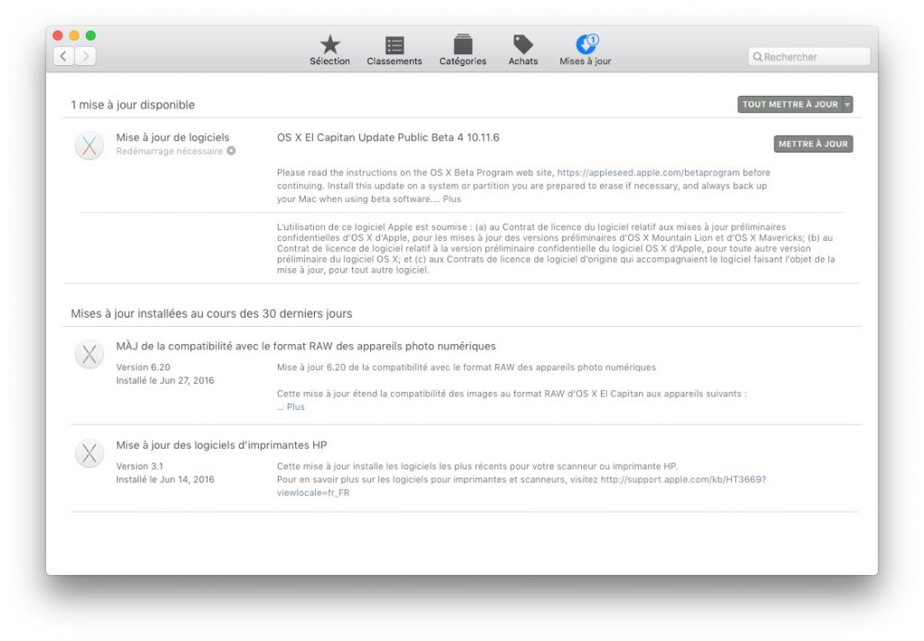 scanner sur mac installer imprimante