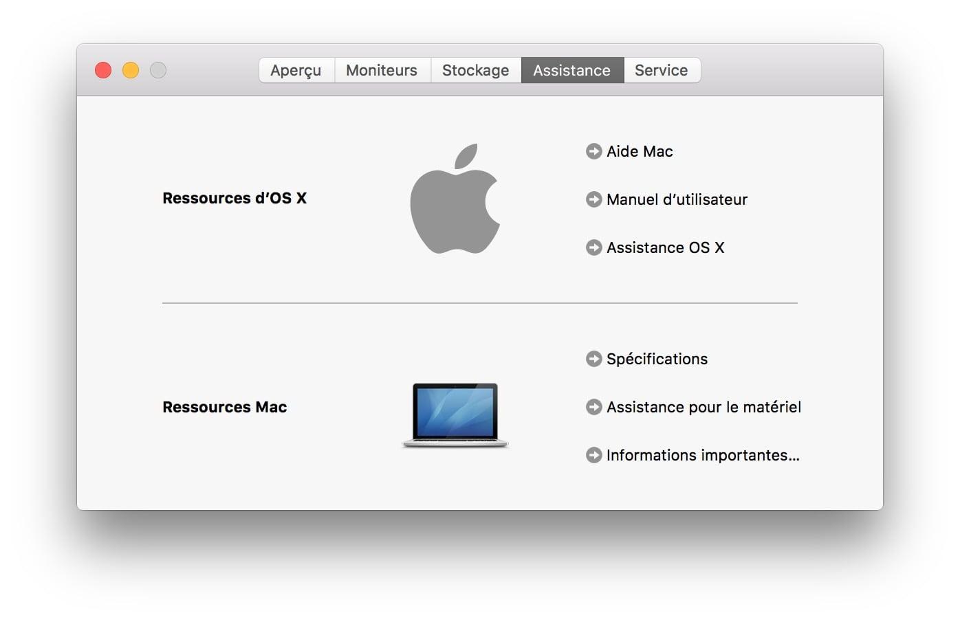 Verifier la garantie de son MacBook pro retina