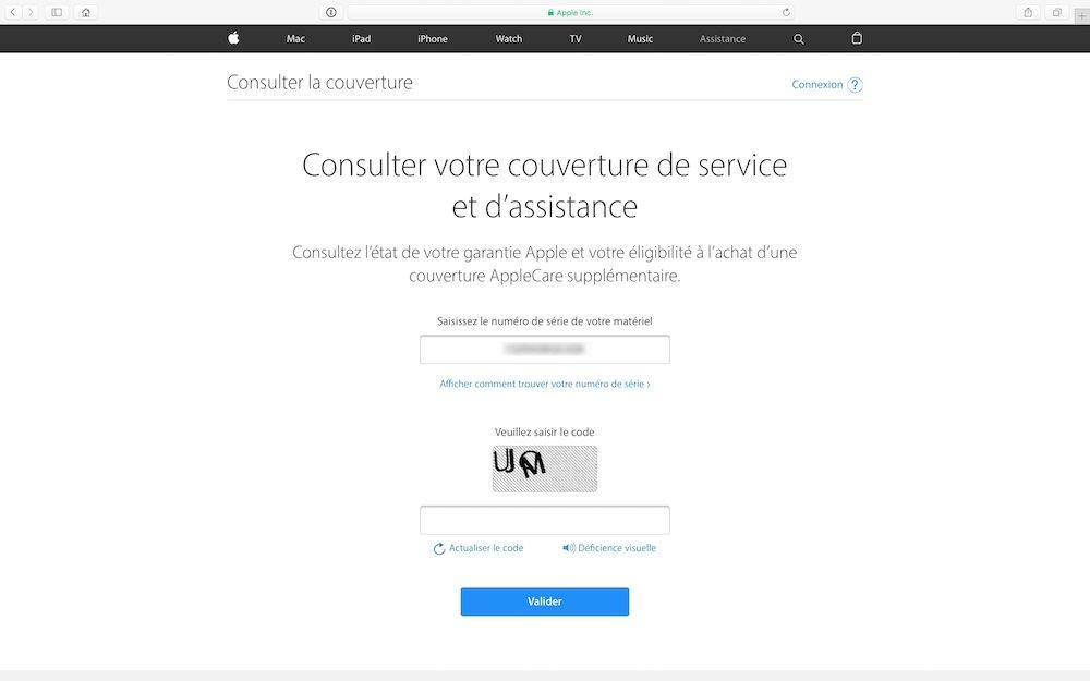 verifier la garantie de son macbook couverture