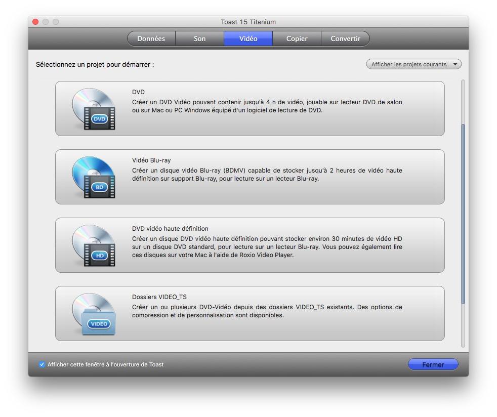 Graver sur macOS Sierra video
